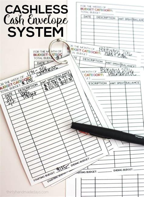 ideas  cash envelope system  pinterest