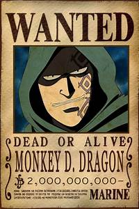 Monkey D. Dragon Bounty by AnimeGalaxyHD on DeviantArt