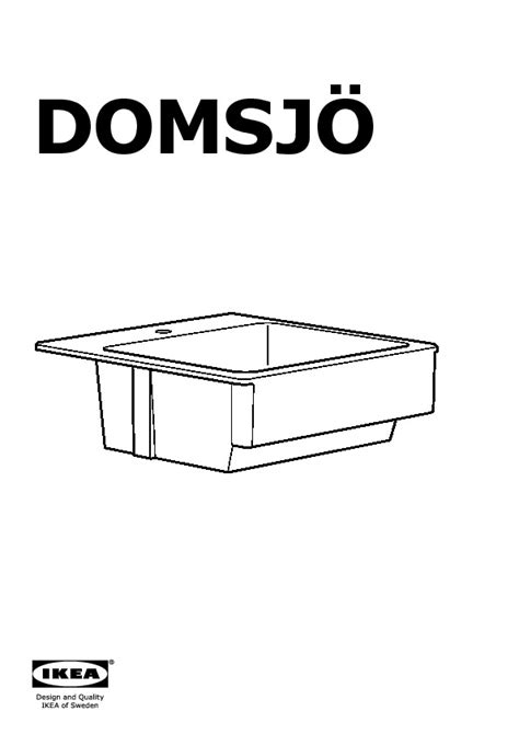 domsj 214 sink bowl white ikea canada english ikeapedia