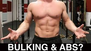 Should You Train Abs While Bulking