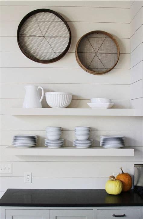 decorative shelves enhance  room