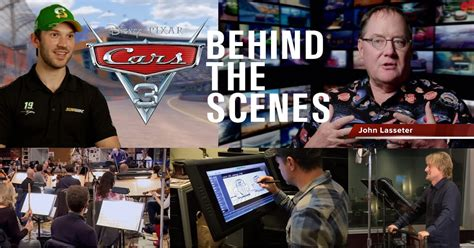 'cars 3' Vocal Booth Sessions, Cast & Crew Interviews