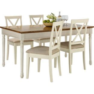 buy addington dining table and 4 chairs at argos co uk