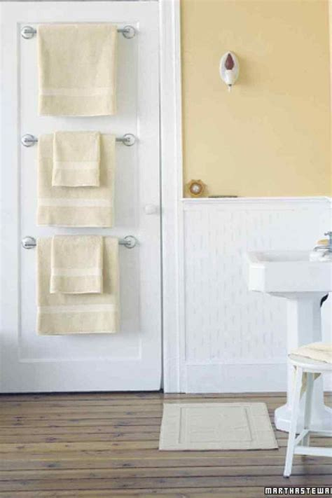 Bathroom Towel Racks Ideas by Ideas To Save Space And Add Towel Storage In A Small