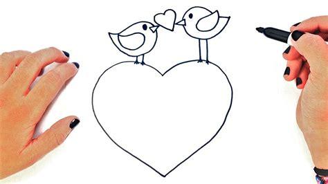 como dibujar el amor dibujos romanticos de amor youtube