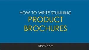 How To Write A Business Plan Sample How To Write Software Product Brochures Examples And