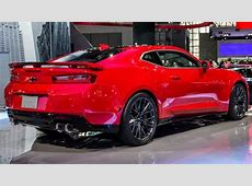 Chevrolet Camaro 2017 dimensions, boot space and interior