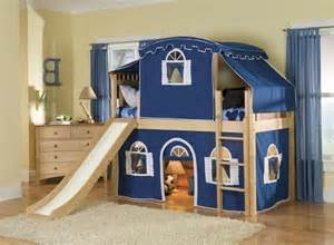 ikea bunk bed with slide room for a childs imagination