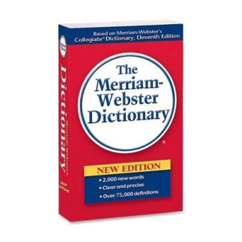 webster s dictionary has made an impact on me prison