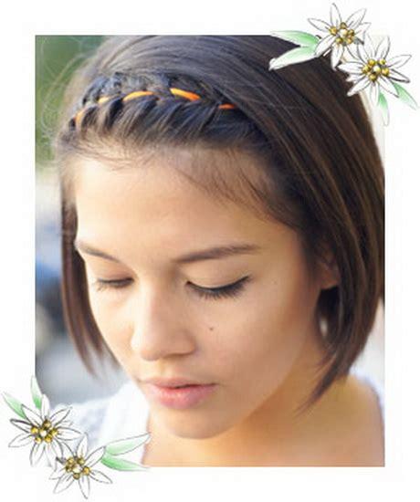 zopf frisuren kurze haare
