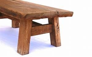 Table Basse Bois Brut : table basse en bois brut de style japonais i wood tables ~ Melissatoandfro.com Idées de Décoration