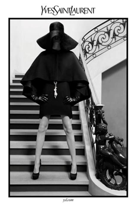 yves saint laurent fallwinter  ad campaign butterboom