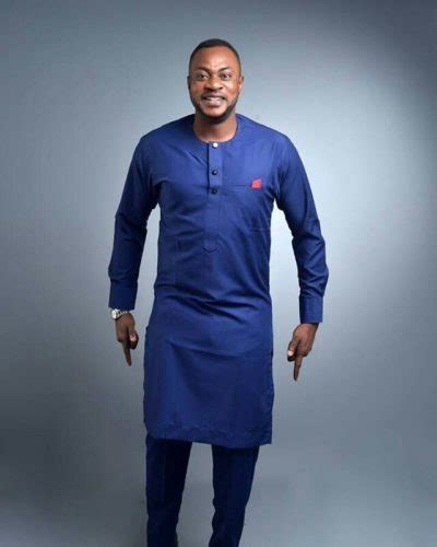 African Traditional Tops Men Nigerian Men Native