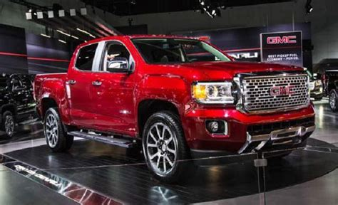 2018 Gmc Canyon Denali Changes, Price  2018  2019 Best