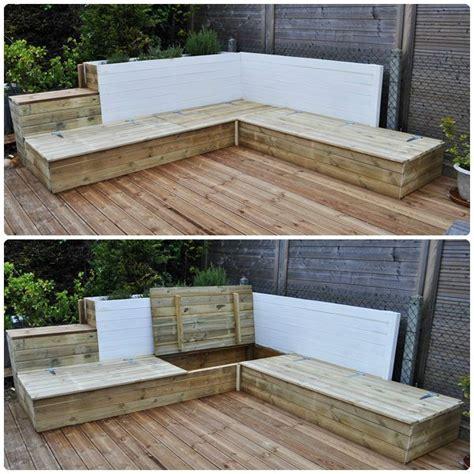 canapé d angle original autoconstruction du salon de jardin en bois part 2 my