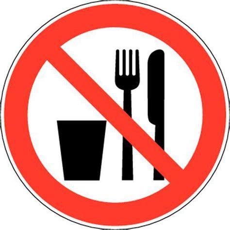 jpg fournitures de bureau panneau d 39 interdiction interdit de manger et boire adhésif