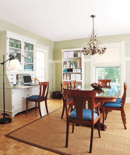 home office in dining room 14 living room and dining room makeovers