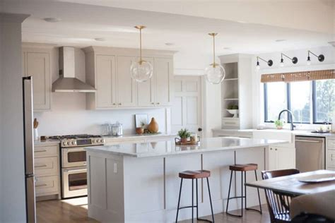 It'll be a great idea, in case you are wanting to remodel your kitchen using the kitchen cabinets that are painted then. The Best Cabinet Paint Colors - Painted By Kayla Payne