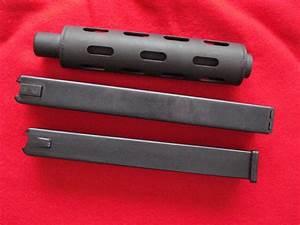 Intratec Ab-10 (Tec 9) 9mm 1-30 & 1-32rd Mag & Barrel Ext ...