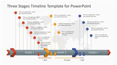 stages timeline template  powerpoint wdqed