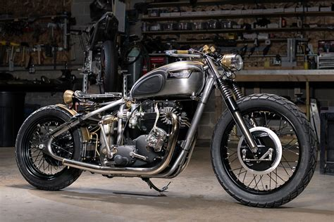 You Only Live Twice. Analog Motorcycles Rebuild Their