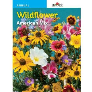 burpee wildflower american mix seed   home depot