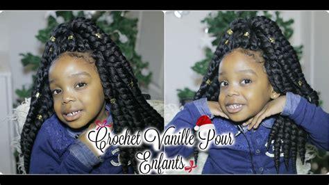 crochet braid vanille twist crochet vanille pour enfants
