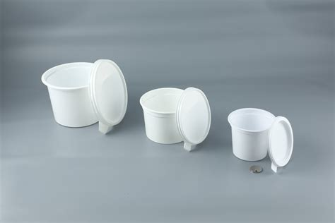 pot alimentaire plastique avec couvercle contenance 25cl pqt 50 emballage alimentaire fournimag