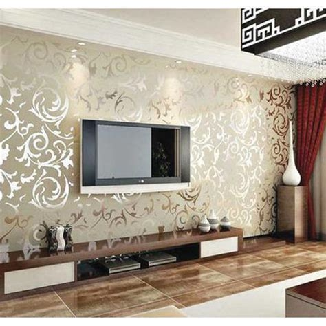 living room wallpaper  rs  square feet