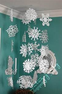 28 cute diy snowflake ideas