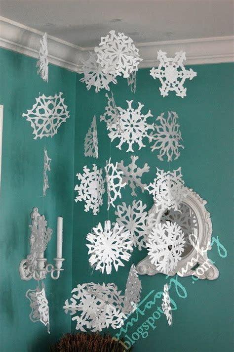 28 cute diy snowflake ideas