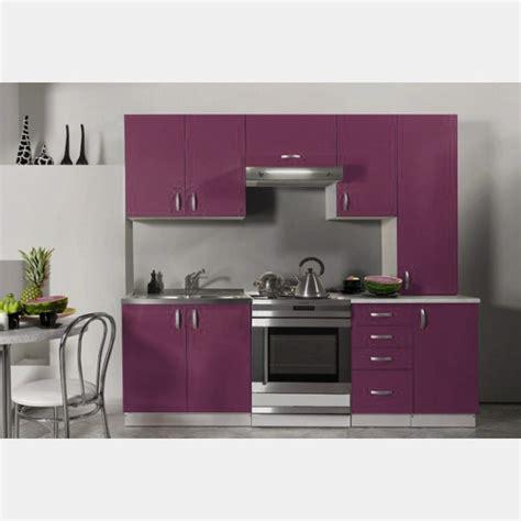 cuisine equipee pas cher cuisine équipée de 2m20 oxane moderne design en coloris