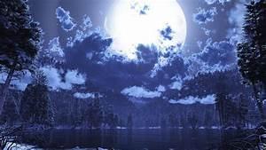 27+ Mesmerizing Moon Backgrounds Backgrounds Design