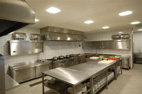 modern kitchen  restaurant stock photo image