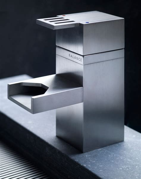 Stainless Steel Bathroom Faucets for Industrial Style