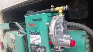 Rv Generator Propane Conversion    Tri-fuel Vid 3