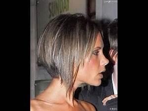 Carré Très Plongeant : coiffure cheveux courts carre plongeant ~ Nature-et-papiers.com Idées de Décoration