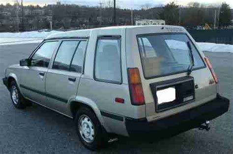 toyota awd wagon find used 1987 toyota corolla tercel awd wagon automatic