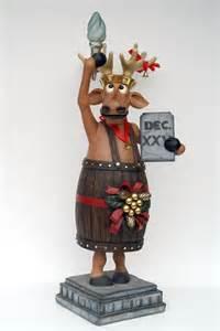 pop art decoration religion and holidays reindeer christmas reindeer liberty statue