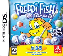 freddi fish abc the sea for nintendo ds gamestop 797 | 181354b