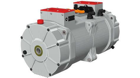 Compact Electric Motor by Brusa Presents Quot Unbeatable Quot Compact Traction Drive