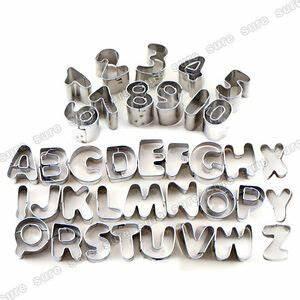 Emporte Piece Lettre : 37 emporte pi ce moules biscuit lettre alphabet chiffre ~ Melissatoandfro.com Idées de Décoration