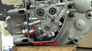Twin Cam Series  17 How To Align The Gerotor Oil Pump In A