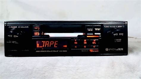 Cassette Car Radio by Vintage Pioneer Keh 8686 Am Fm Cassette Car Stereo