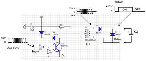 Transistors Finding Point Thyristor Drive Circuit