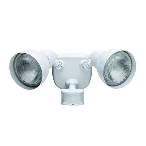 defiant lighting customer service defiant 270 white motion outdoor security light df 5718