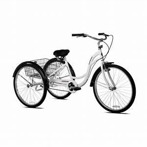 26 U0026quot  Schwinn Meridian Adult Tricycle  Cherry