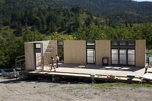 Prix Kit Maison Bois : maison en kit passive ou bbc by homelib montage de meuble ~ Premium-room.com Idées de Décoration