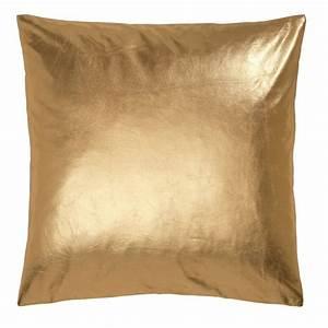 Metallic Gold Cushion By Ciel