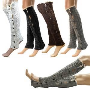womens boot socks australia 39 s fashion crochet knitted lace trim boot cuffs toppers leg warmers socks ebay